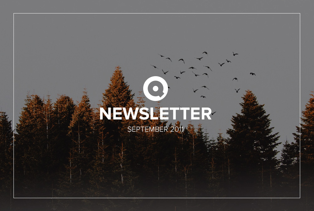 Newsletter September 2011