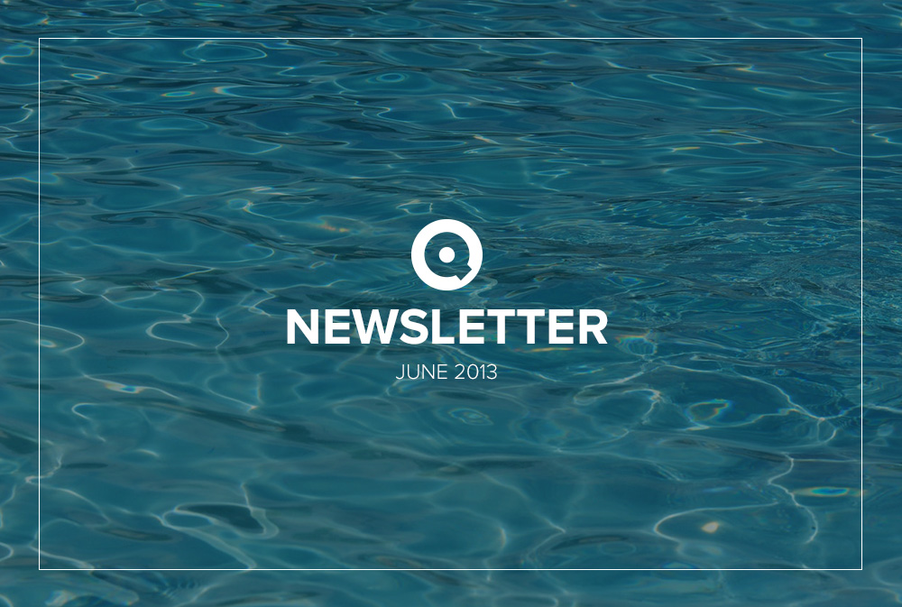 Newsletter June 2013