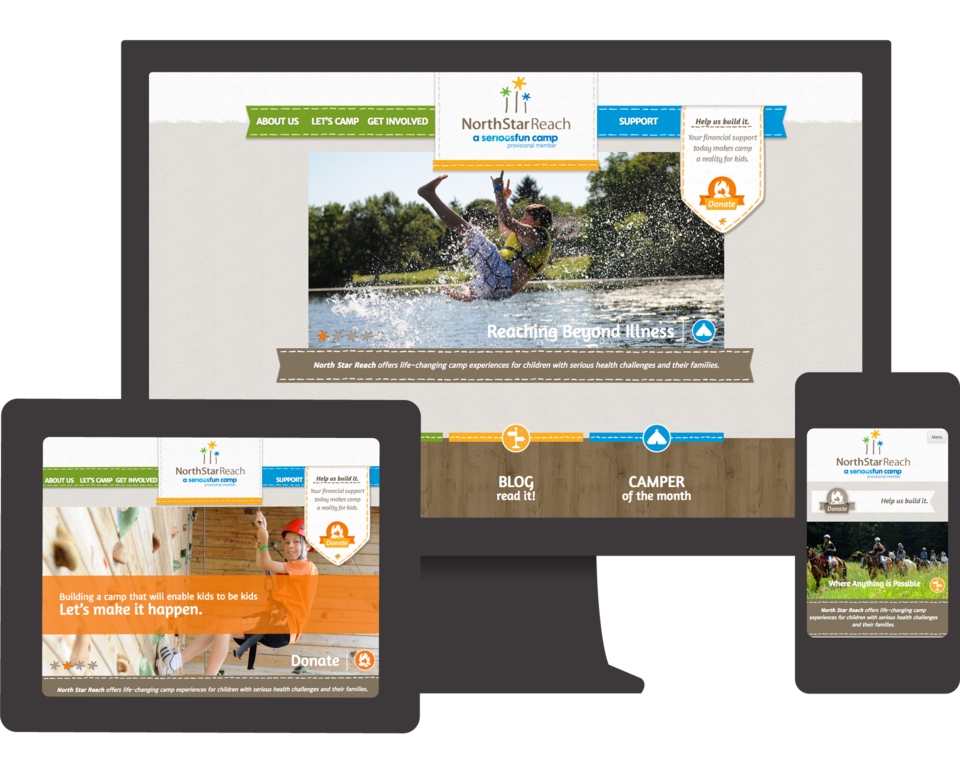 Q LTD Designs and Develops Web Site for North Star Reach