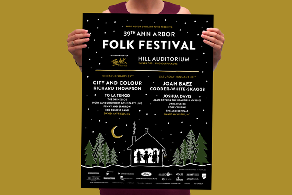 39th Annual Ann Arbor Folk Festival