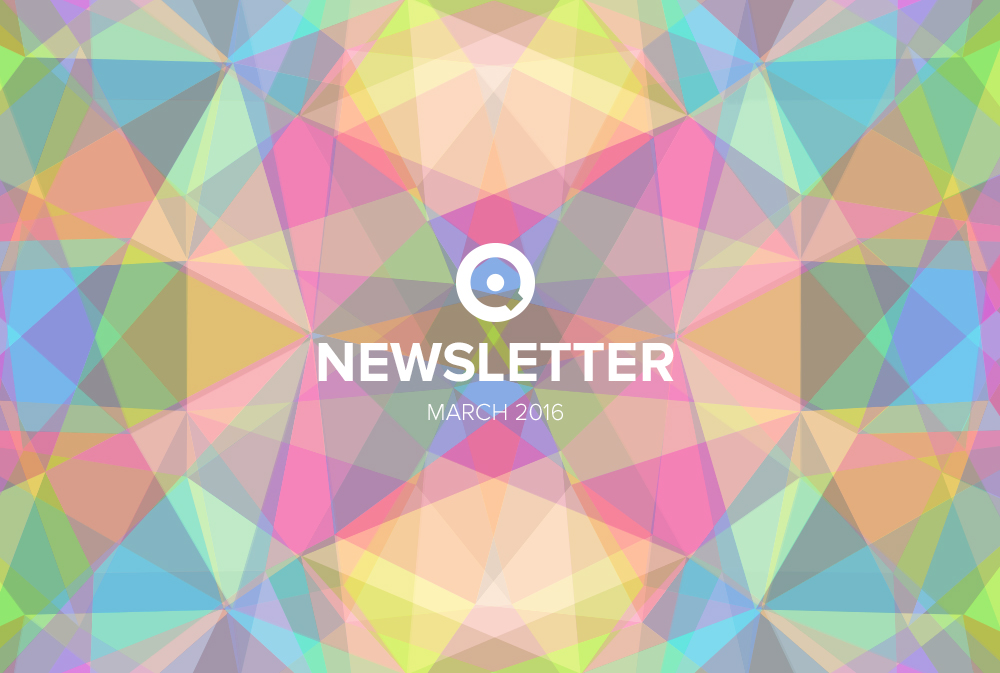 Newsletter March 2016