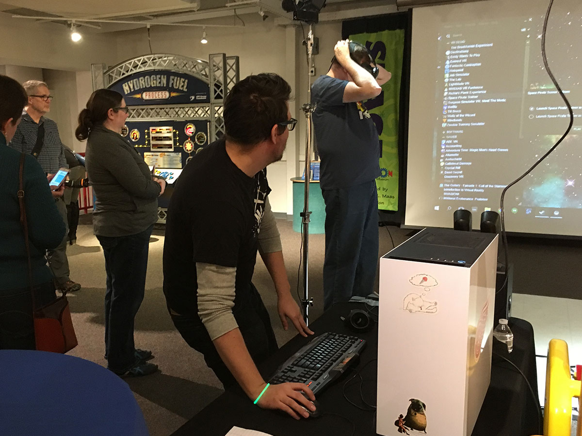 Virtual Reality and A Pint At The Museum