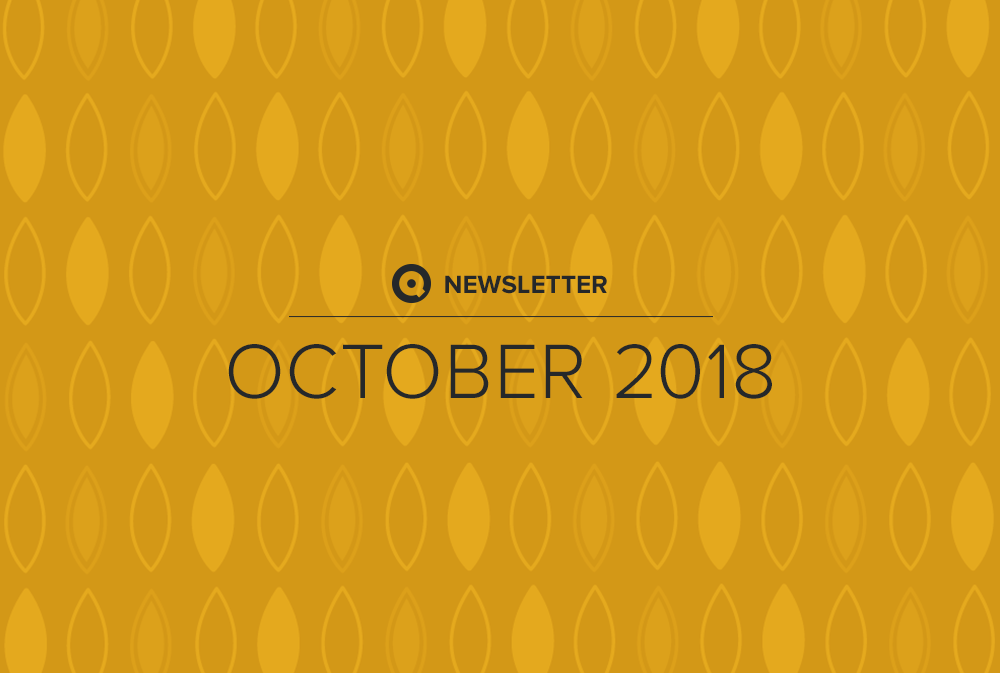 Newsletter October 2018