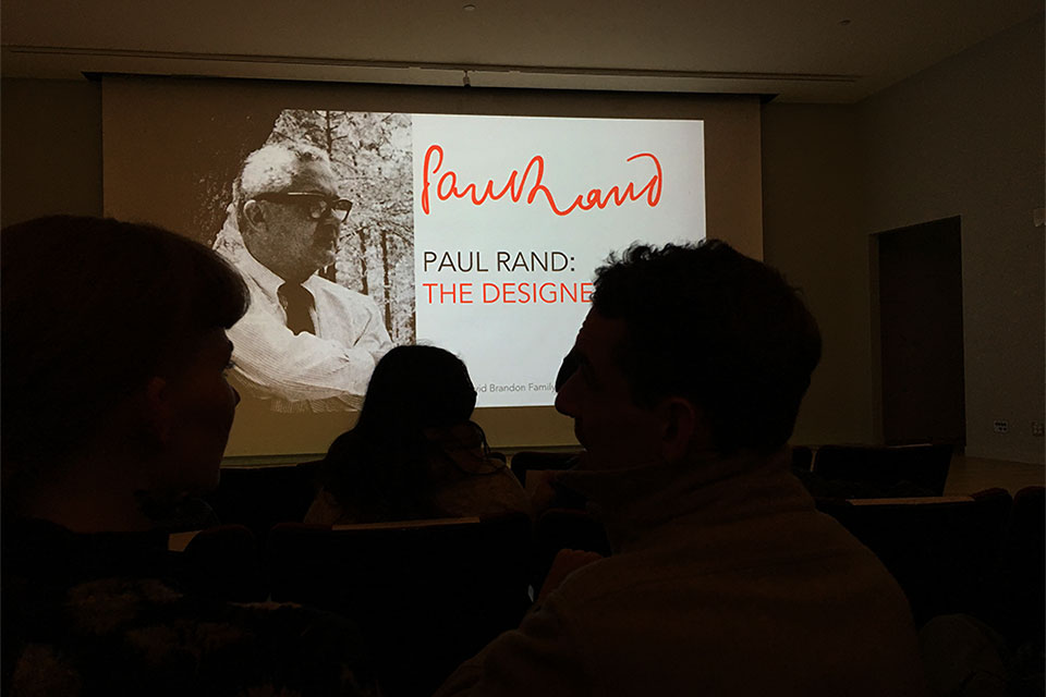 Paul Rand lecture