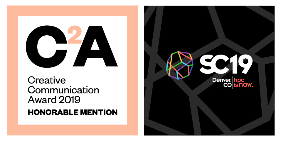 Q LTD Brand Design for SC19  is Selected for 2019 Creative Communication Award